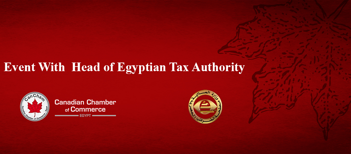 Event with Head of Egyptian Tax Authority