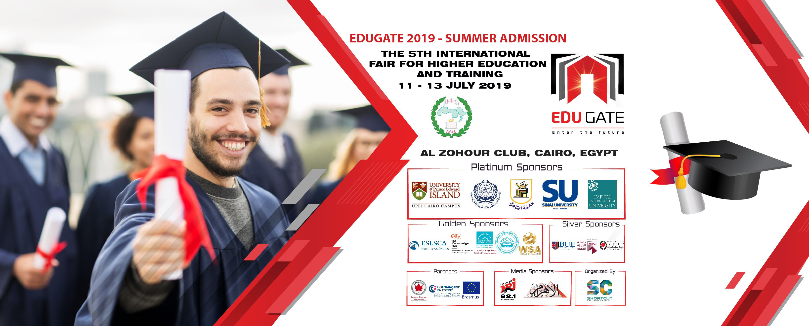 The 5th International Fair for Higher Education and Training.