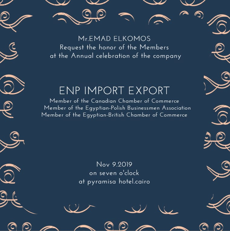 ENP Import & Export Annual Celebration