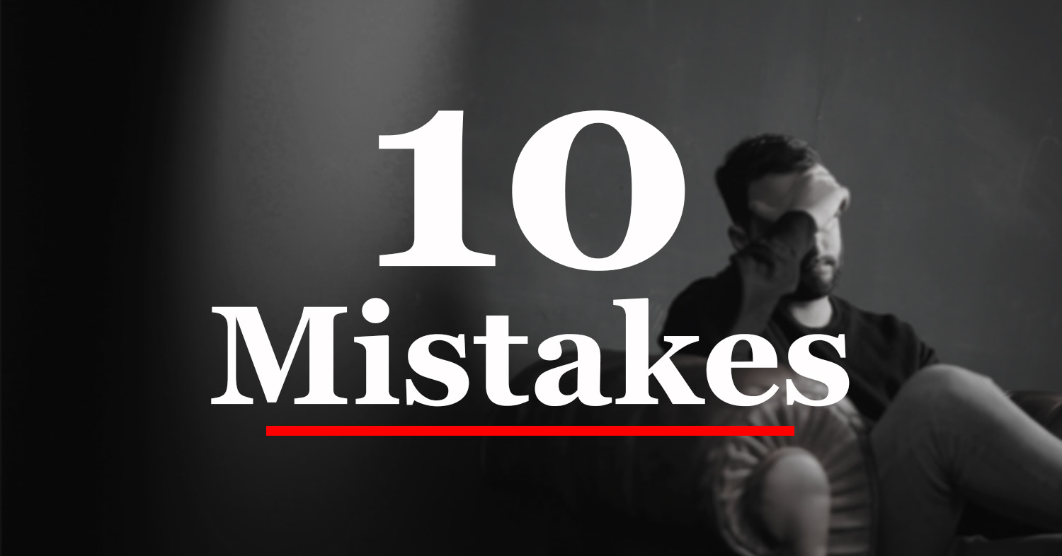 10 Mistakes Marketing Managers Should Avoid